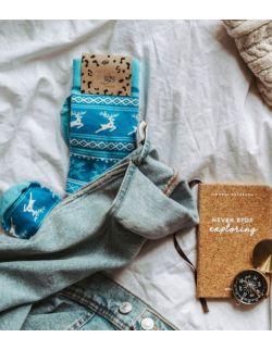 Zestaw 3 par skarpet z kolekcji fińskiej dla rodziców i dziecka