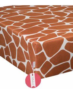 Bawełniane prześcieradło Żyraffa