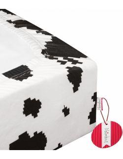 Prześcieradło do łóżeczka - Cyber Krowa