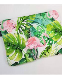 Poduszka Bambusowa średnia 30x40cm Flamingi
