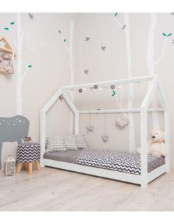Łóżko domek Leo Biały