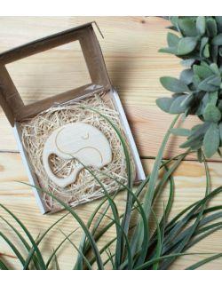 gryzak klonowy drewniany ekologiczny