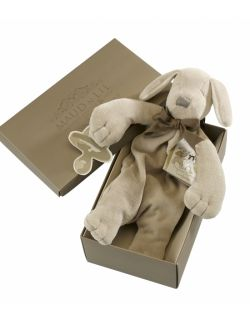 Przytulanka komforter z bawełny organicznej piesek Paws - Maud N Lil
