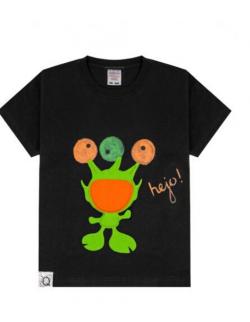 Koszulka dziecięca z trójokim stworkiem: KOSMIETEK