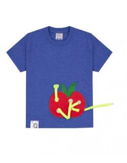 Koszulka dziecięca z aplikacją APPLE