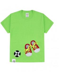 Koszulka dziecięca z aplikacją sportową BIND