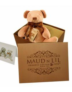 Przytulanka organiczna antyalergiczna miś Cubby the Teddy - Maud N Lil