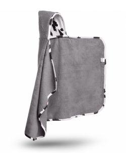 Bambusowy ręcznik z kapturkiem - Cyber Krowa