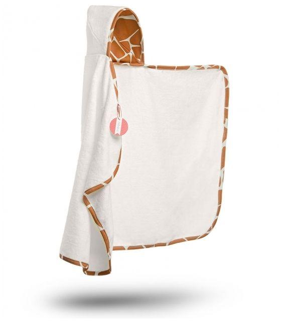 Bambusowy ręcznik z kapturkiem - Żyraffa