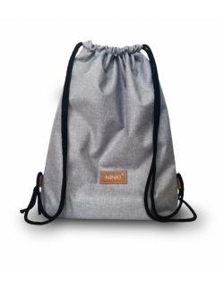 worko - plecak poliester (jasnoszary)
