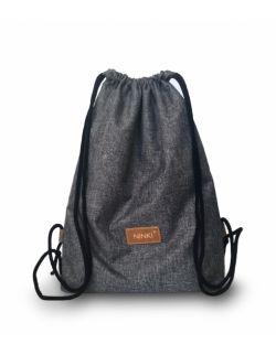 worko - plecak poliester (ciemnoszary)