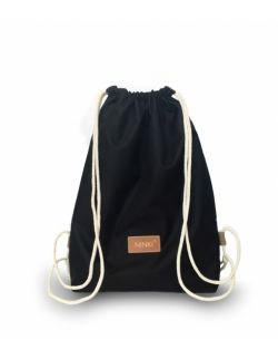 worko - plecak poliester (czarny)