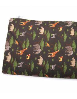 Kocyk velvet do łóżeczka dla średniaka 75x100 Wild Safari