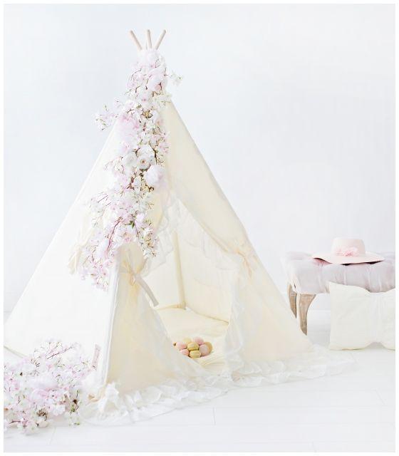 Namiot tipi dla dziecka Waniliowa Królewna
