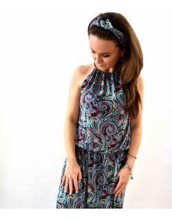 Energetyczna sukienka damska Etno
