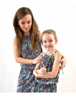 Energetyczne sukineki dla mamy i córki Etno
