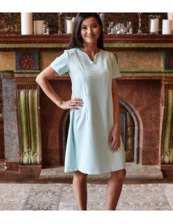 Sukienka ciążowa, do karmienia i po karmieniu- Elegant Mint Dress