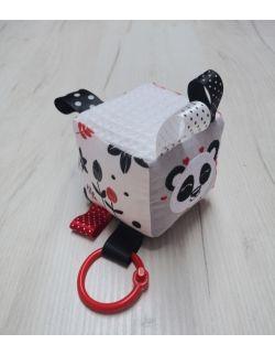 Kontrastowa kostka sensoryczna Panda