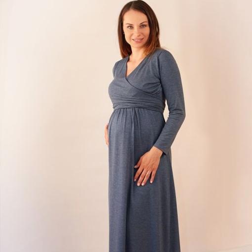 3dcbcd2e Najmodniejsze sukienki ciążowe - eleganckie propozycje na rodzinne ...
