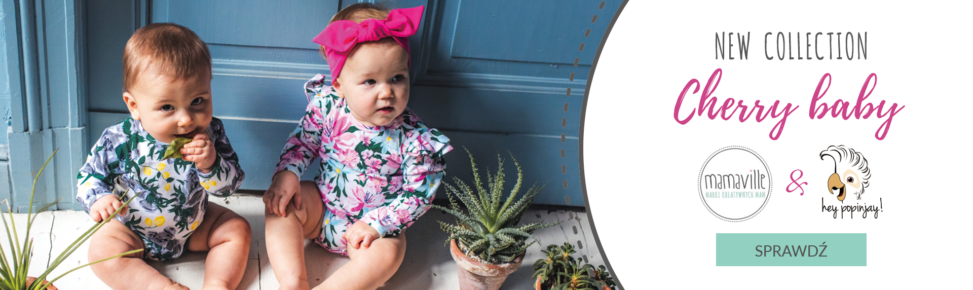 Ubranka dla dzieci - nowa kolekcja we współpracy Hey Popinjay i Mamaville